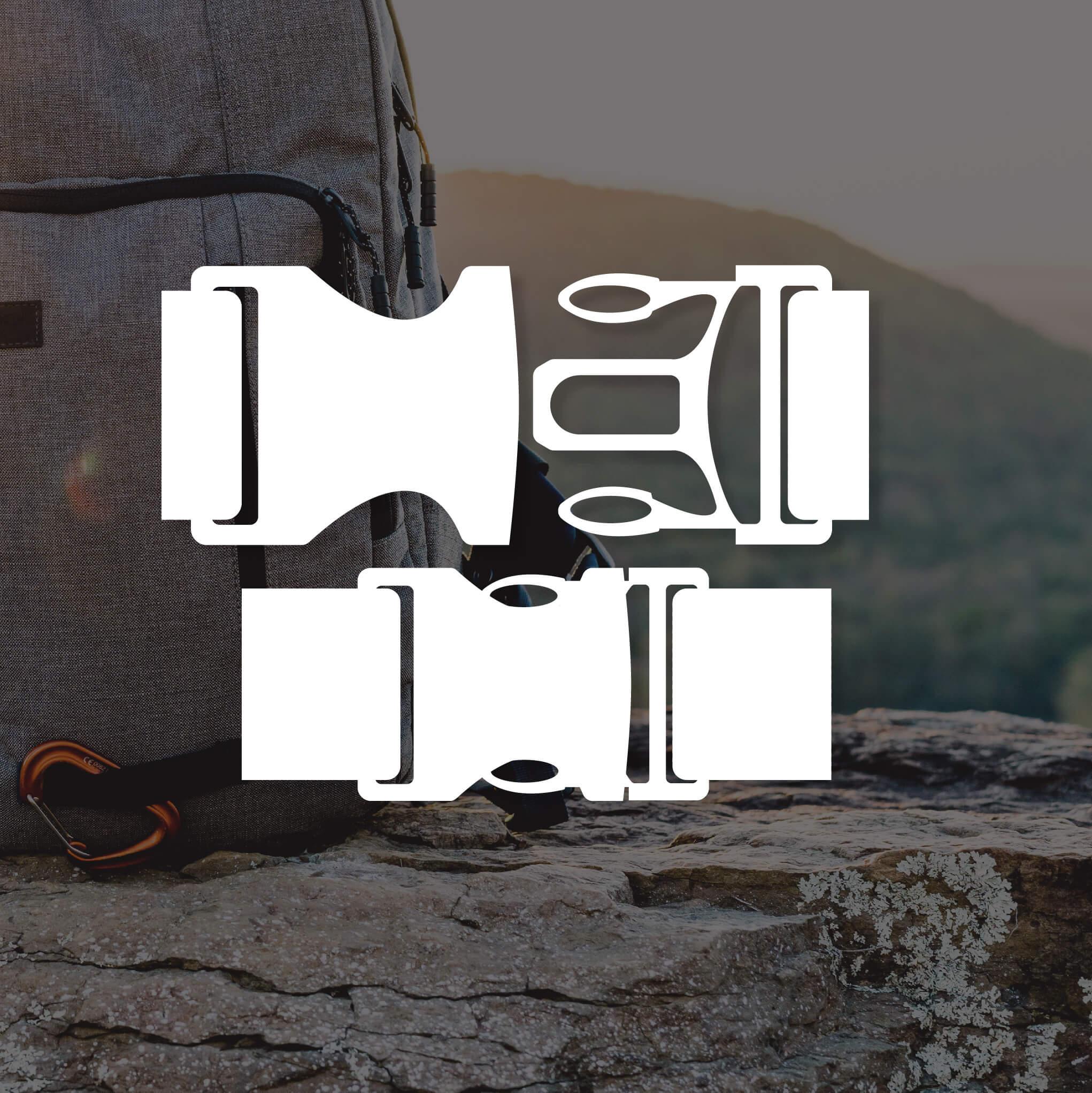 white buckle design