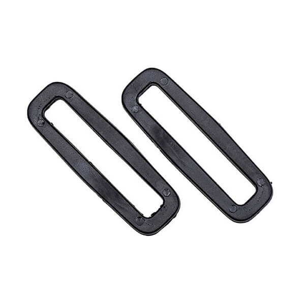 two black looplocs