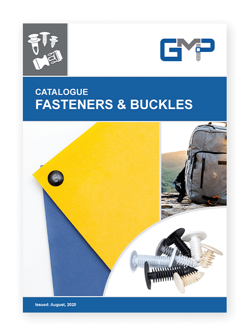 GMP fasteners and buckles