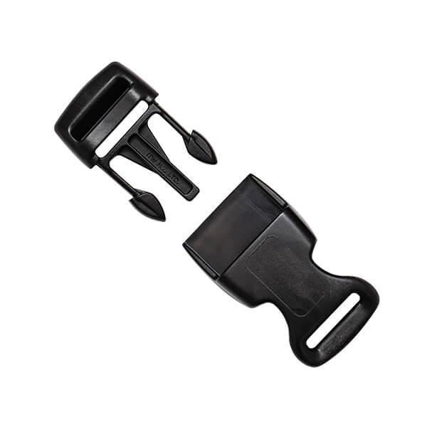black safety vest buckle